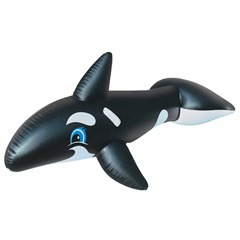 Giant whale pool toy