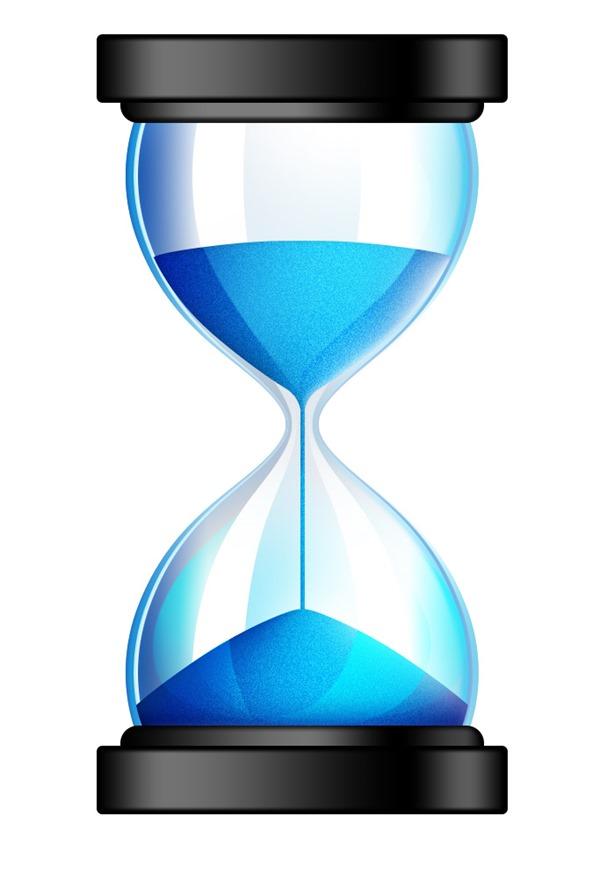hourglass...
