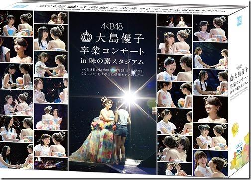 Oshima Yuko Sotsugyo Concert in Ajinomoto Stadium - 6 Gatu 8 Ka no Kosui Kakuritsu 56percent (5 Gatsu 16 Nichi Genzai), Teruterubozu wa Koka ga Arunoka - [Special Blu-ray Box]