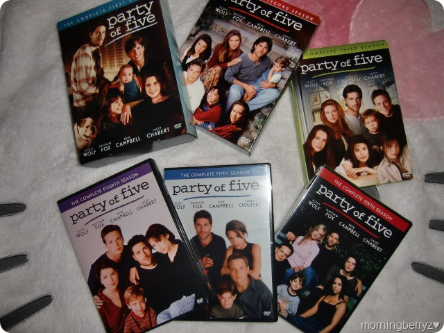 Party of Five complete series on DVD