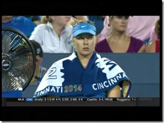 Sharapova vs. Ivanovic U.S. Open Series Western & Southern Open August 16th, 2014 (14)