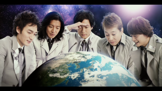 SMAP in YES WE ARE