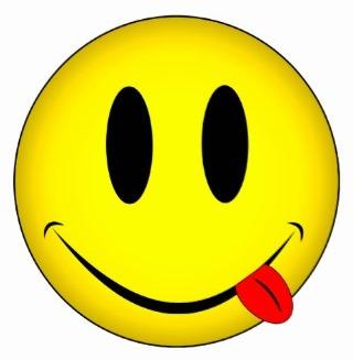 smiley tongue