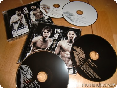Tackey & Tsubasa Dakinatsu singles type A LE & type b with DVDs