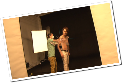 Tackey & Tsubasa in Dakinatsu jacket making of (45)