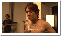 Tackey & Tsubasa in Dakinatsu jacket making of (47)