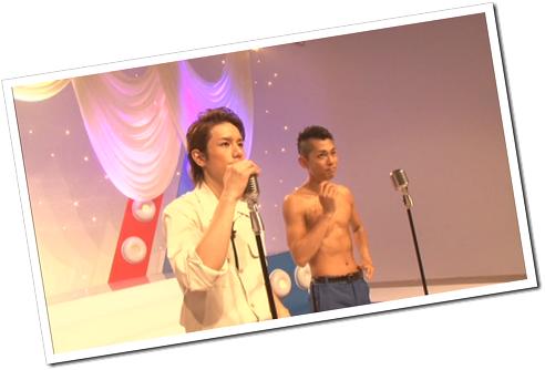 Tackey & Tsubasa in Dakinatsu making of (27)