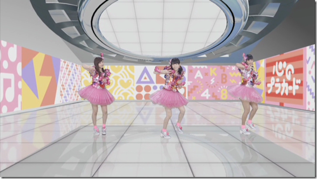 AKB48 Kokoro no placard choreography video type C (Dance movie ver (12)