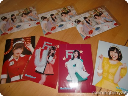 AKB48 Kokoro no placard regular edition photo extras- random internal photos & external Neowing photo extras