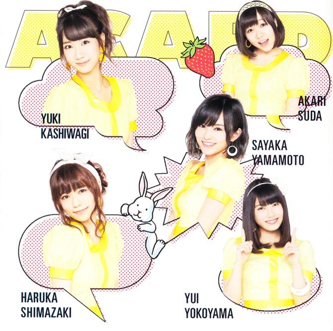 AKB48 Kokoro no placard single type D (4)