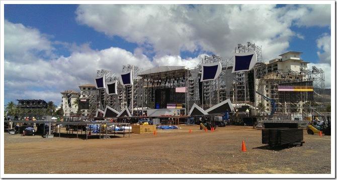 Arashi stage at Ko olina