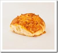 cheesy and bacon bun...