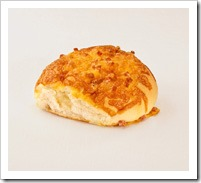 cheesy and bacon bun...