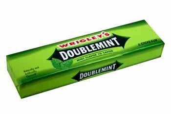 Doublemint gum...