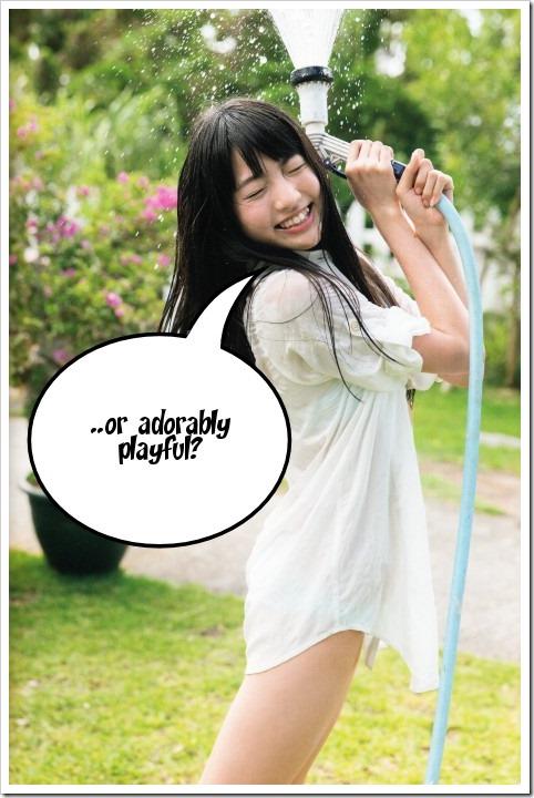 Shida Yuumi wonders....