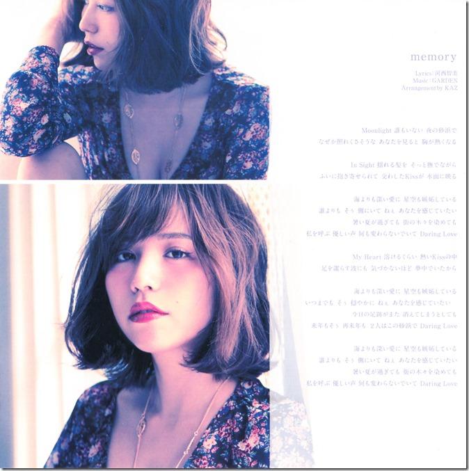 Kasai Tomomi ima sara sara type A single (4)