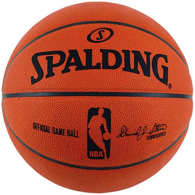 NBA Spalding official game ball
