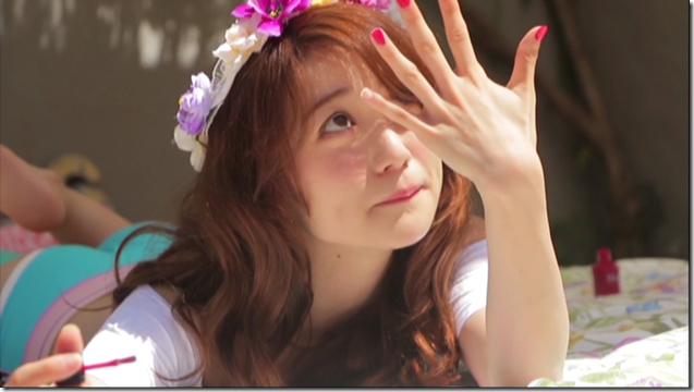 Oshima Yuko in 脱ぎやがれ! making (12)