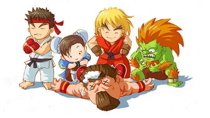 Street Fighter Cute!