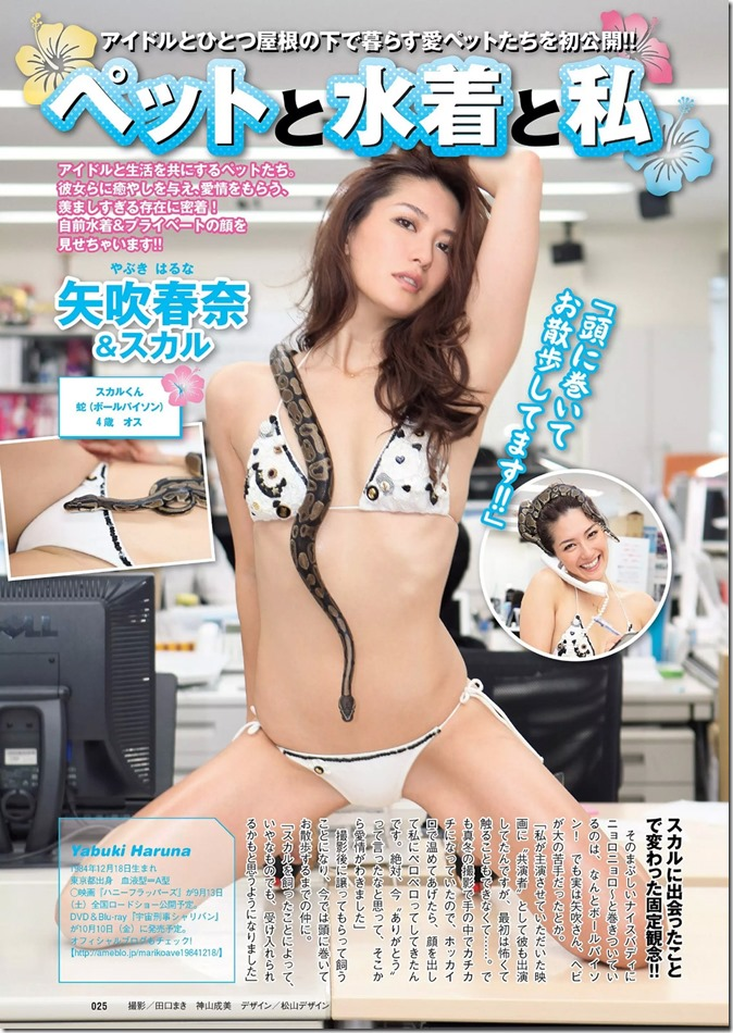 Weekly Playboy no.34.35 September 1st, 2014 (19)