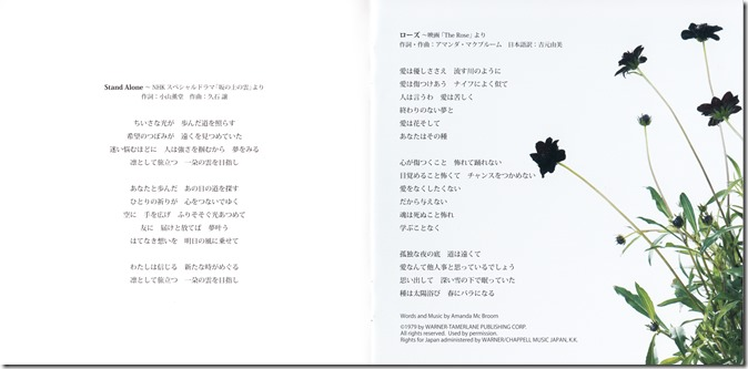 Abe Natsumi Hikari e ~classical & crossover~ (8)
