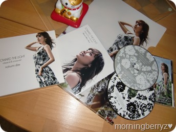 Abe Natsumi Toward The Light ~classical & crossover~ album with first press clear file