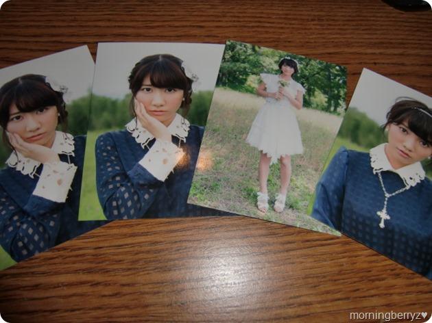 French Kiss Omoidasenai hana photo cards