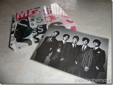 SMAP Mr.S LE with first press post card