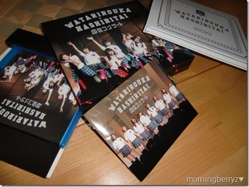 Watarirouka Hashiritai Kaisan Concert Bluray LE box set