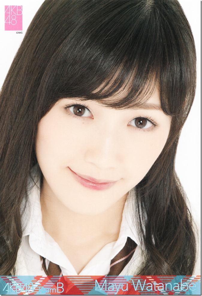 2015 Watanabe Mayu desktop calendar (8)