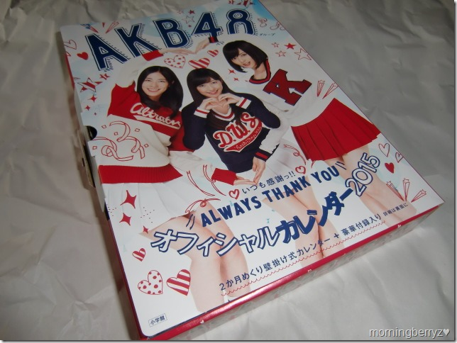 AKB48 2015 Official Group Calendar (2)