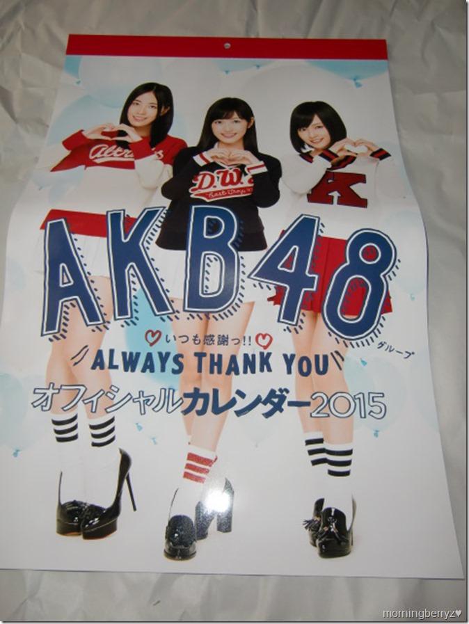AKB48 2015 Official Group Calendar (4)