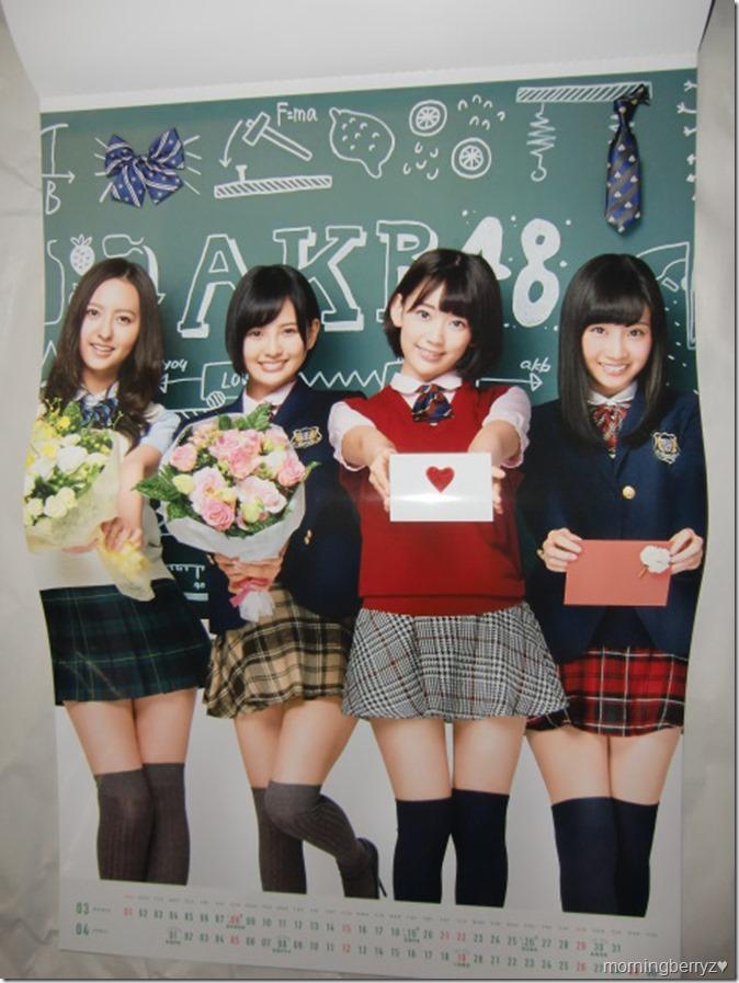 AKB48 2015 Official Group Calendar (6)