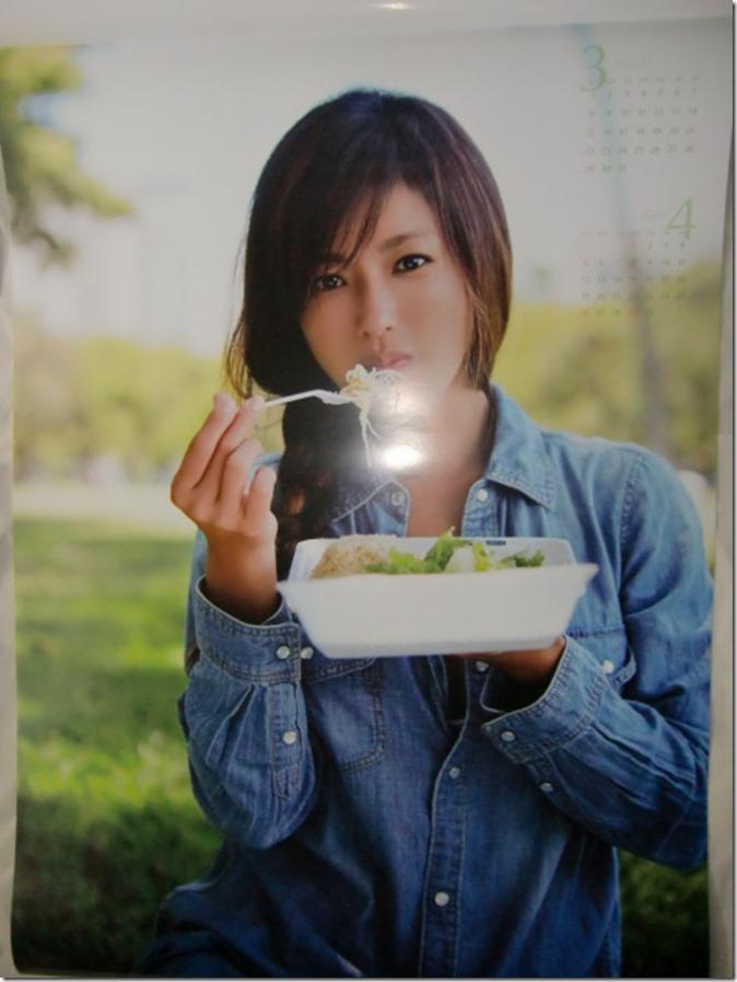 Fukada Kyoko 2015 wall calendar (3)