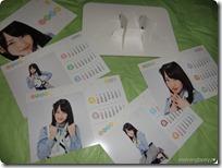 Kawaei Rina 2013 desktop calendar...