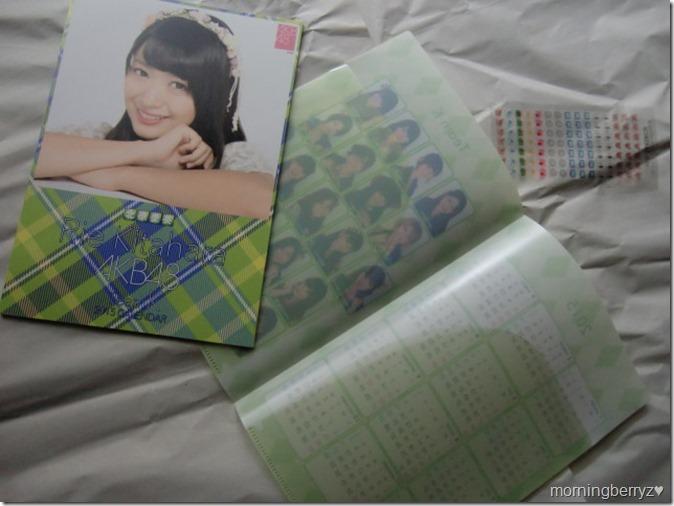 Kitahara Rie 2015 desktop calendar (2)