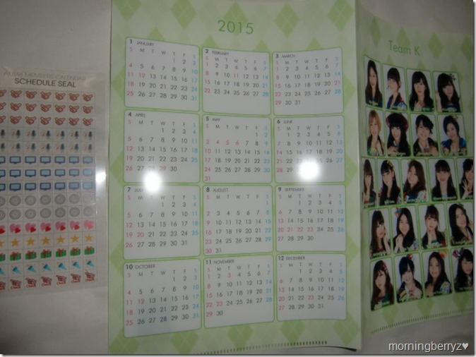 Kitahara Rie 2015 desktop calendar (3)