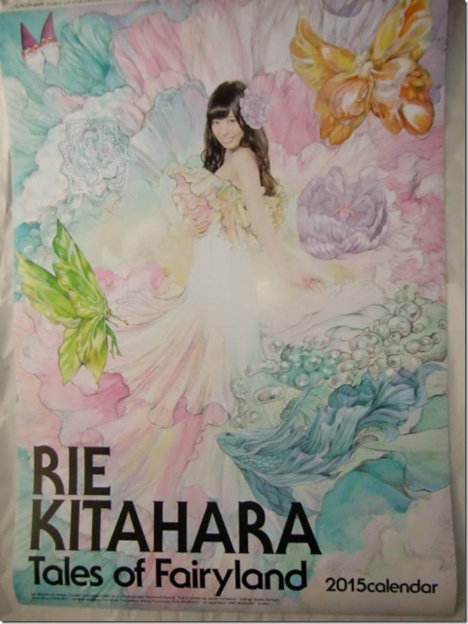 Kitahara Rie 2015 wall calendar (1)