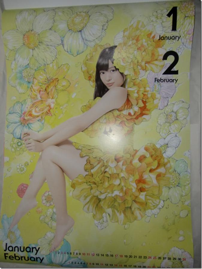 Kitahara Rie 2015 wall calendar (2)