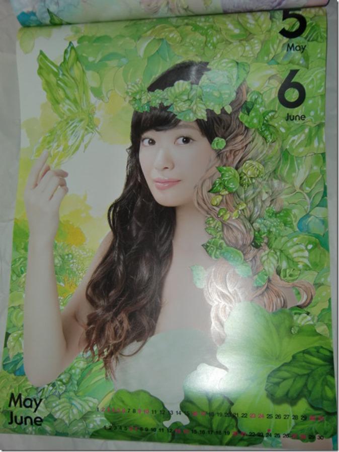 Kitahara Rie 2015 wall calendar (4)