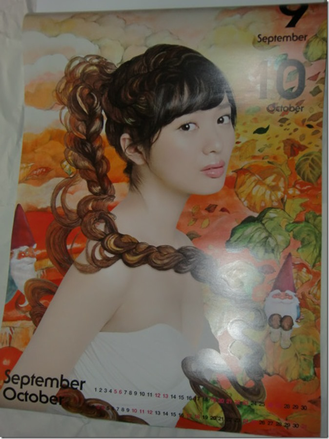 Kitahara Rie 2015 wall calendar (6)