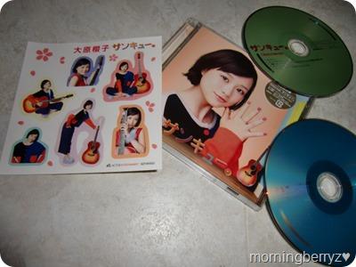 Ohara Sakurako Thank You LE with DVD & first press stickers