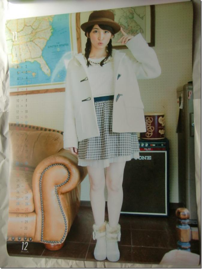 Okamoto Rei 2015 Wall Calendar (7)