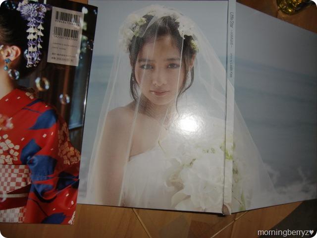 橋本環奈写真集 (real front & back covers)
