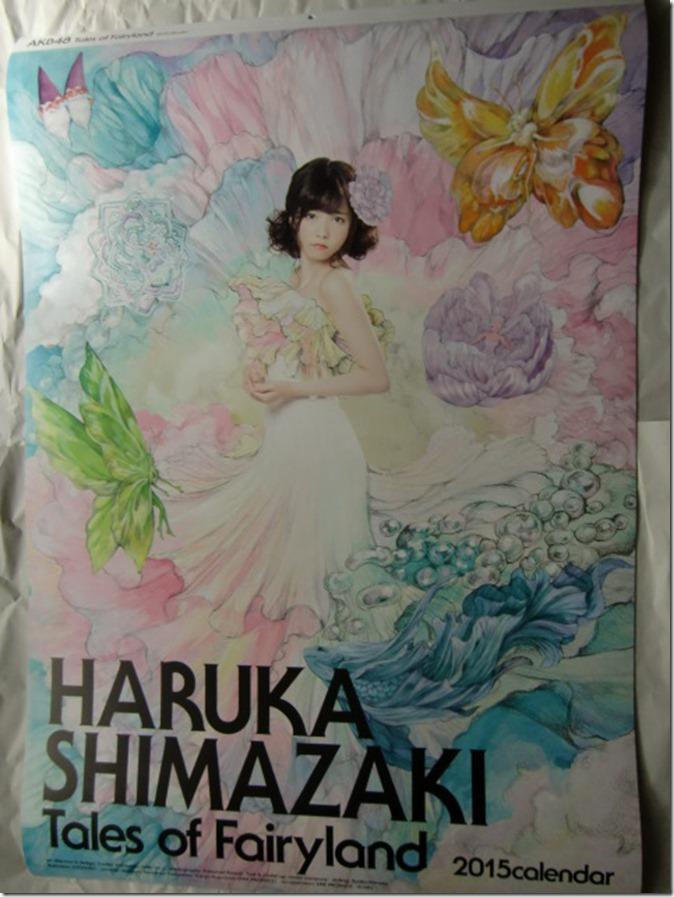 Shimazaki Haruka 2015 Wall Calendar (1)