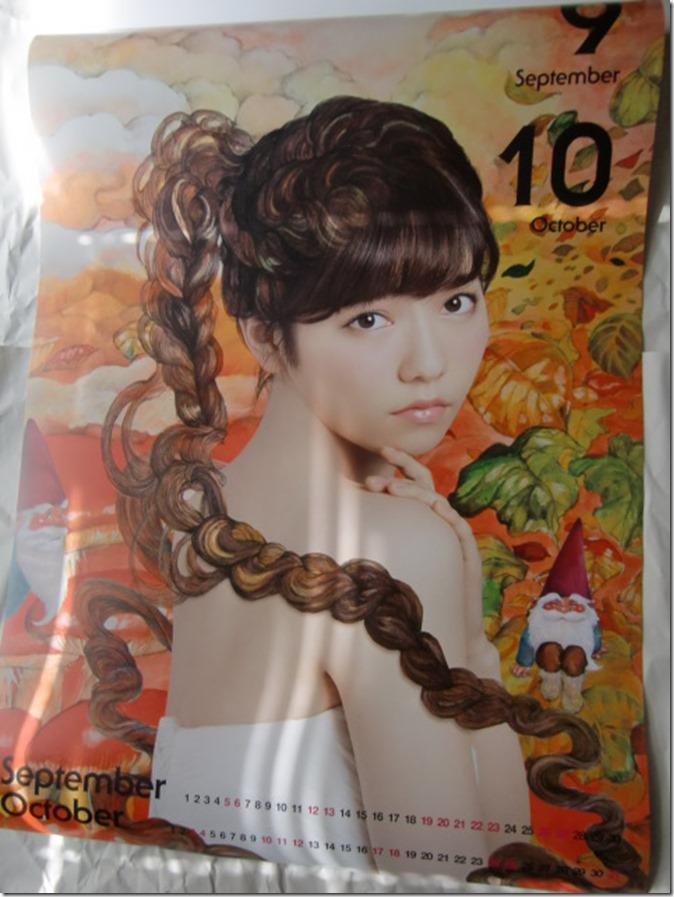 Shimazaki Haruka 2015 Wall Calendar (6)