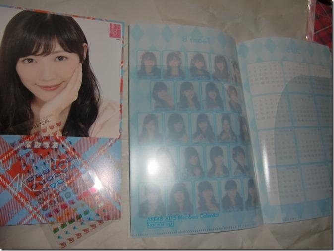 Watanabe Mayu 2015 desktop calendar (2)
