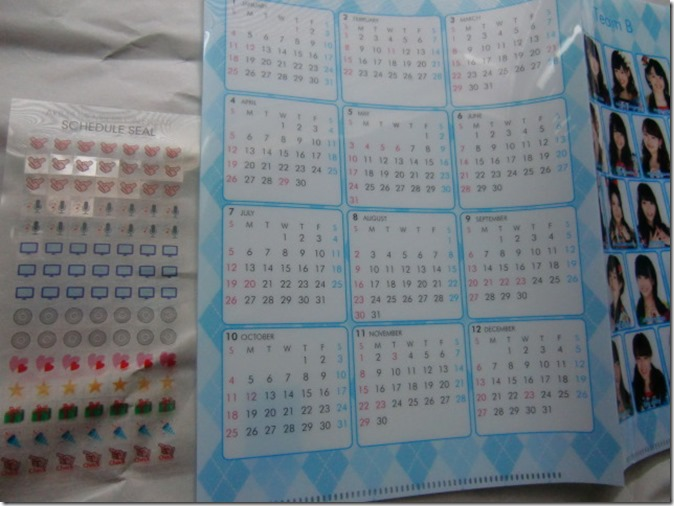 Watanabe Mayu 2015 desktop calendar (3)