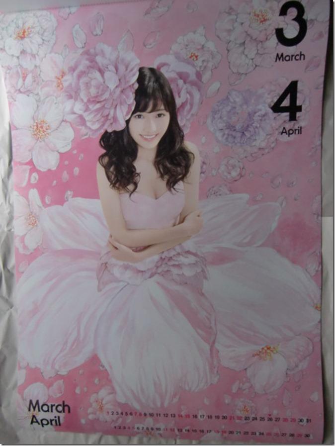 Watanabe Mayu 2015 Wall Calendar (3)
