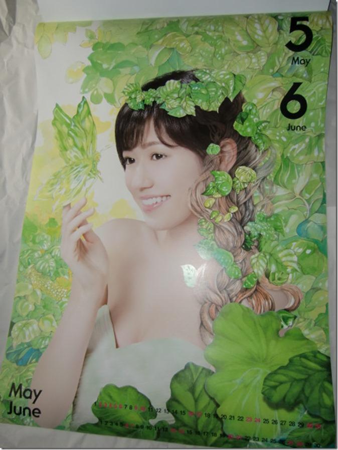 Watanabe Mayu 2015 Wall Calendar (4)